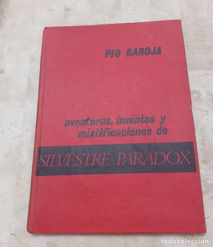 AVENTURAS, INVENTOS Y MIXTIFICACIONES DE SILVESTRE PARADOX PIO BAROJA 1930 (Libros antiguos (hasta 1936), raros y curiosos - Literatura - Narrativa - Novela Histórica)
