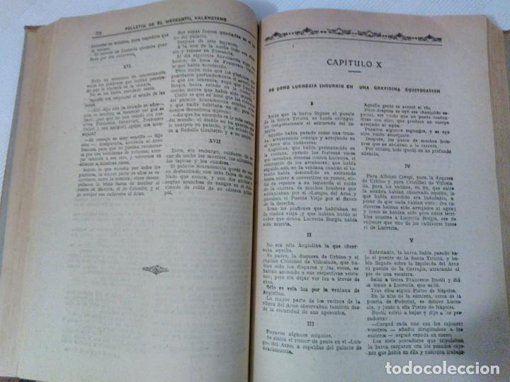 Libros antiguos: Lucrecia Borgia ( Memorias de Satanás) de Manuel Fernández y González Años 20. - Foto 2 - 208805518