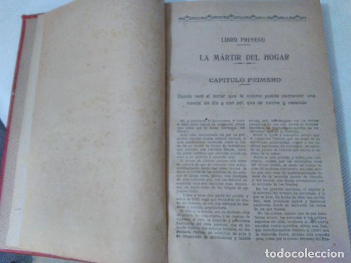 Libros antiguos: El Cura de Aldea de Enrique Pérez Escrich. Años 20 - Foto 8 - 208814875