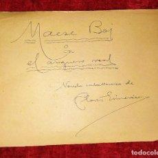 Libros antiguos: MAESE BOJ O EL ARQUERO DEL REY. MANUSCRITO. NOVELA INÉDITA. CLOVIS EIMERIC. ESPAÑA. CIRCA 1930. Lote 209562693