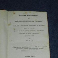 Libros antiguos: (MF) JUAN DE LA GRANJA - RASGOS HISTÓRICOS DE MAGNANIMIDAD, VALOR, NOBLEZA, ANECDOTAS 1835. Lote 210094065