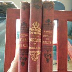 Libros antiguos: PONSON DU TERRAIL-LOTE 3 TOMOS DE 1898-99-ENRIQUE Y MARGARITA-CLARA DE AZAY-AV. DE ENRIQUE IV-VER. Lote 210254058