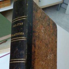 Libros antiguos: DON JUAN DE AUSTRIA O LAS GUERRAS DE FLANDES- DON JUAN DE ARIZA. TOMO I-II-III-IV 1847. Lote 210299147