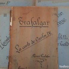 Libros antiguos: EPISODIOS NACIONALES. GALDÓS. 1ª SERIE. RECOPILACIÓN ARTÍCULOS PERIÓDICO 1928. Lote 211401285