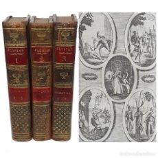 Libros antiguos: 1810 - AL-ANDALUS - GONZALO FERNÁNDEZ DE CÓRBODA O LA RECONQUISTA DE GRANADA - LÁMINAS GRABADAS. Lote 211403316