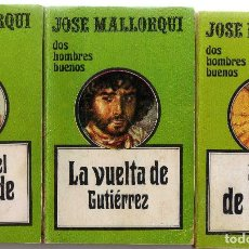 Libros antiguos: NOVELAS DOS HOMBRES BUENOS ( LOTE DE 25 ). Lote 212476643