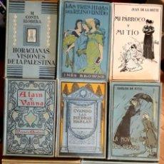 Libros antiguos: BIBLIOTECA EMPORIUM. LOTE DE 8 LIBROS MUY BUEN ESTADO. GUSTAVO GILI EDITOR BARCELONA.. Lote 215576865