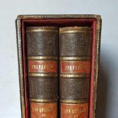 Libros antiguos: QUIJOTE ILUSTRADO POR J. SEGRELLES, ÚNICO,PRESENTADO EN UNA ENCUADERNACIÓN DE LUJO EN PIEL REPUJADA,. Lote 217031343
