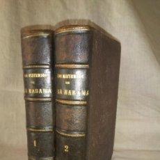 Libros antiguos: LOS MISTERIOS DE LA HABANA - AÑO 1879 - A.PEDROSO DE ARRIAZA - LAMINAS.MUY RARO.. Lote 219177861