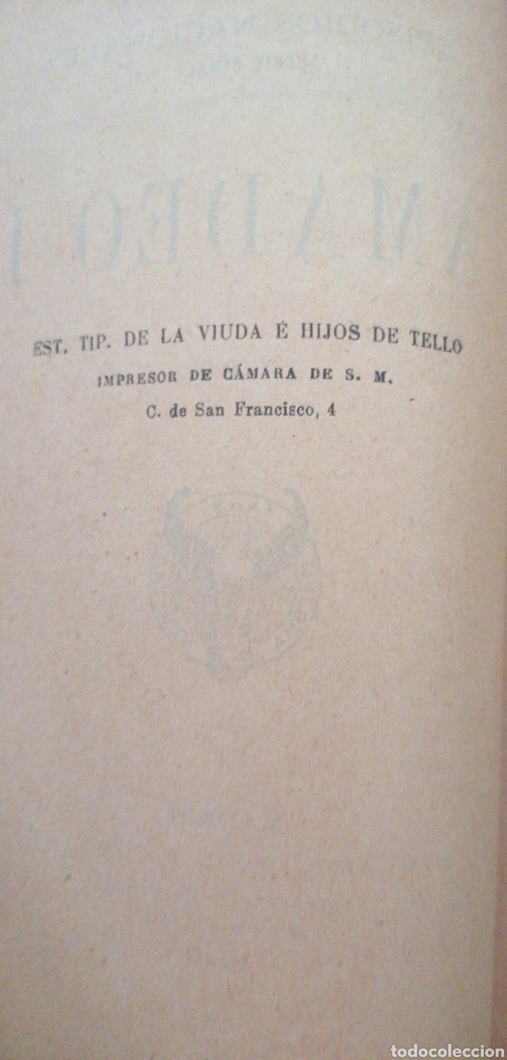 Libros antiguos: B. PÉREZ GALDOS EPISODIOS NACIONALES SERIE FINAL AMADEO I - Foto 3 - 219406321