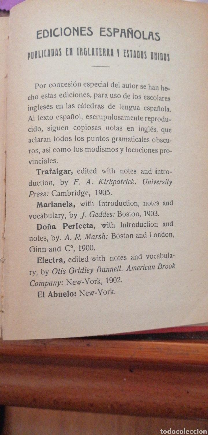 Libros antiguos: B. PÉREZ GALDOS EPISODIOS NACIONALES SERIE FINAL AMADEO I - Foto 6 - 219406321