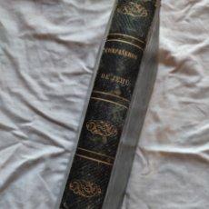 Libros antiguos: LOS COMPAÑEROS DE JEHÚ, ALEJANDRO DUMAS. BARCELONA, S. XIX. Lote 220533918