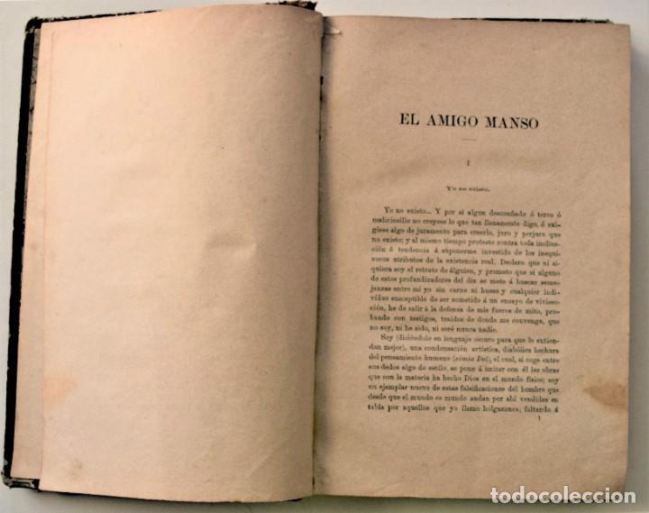 Libros antiguos: EL AMIGO MANSO - BENITO PÉREZ GALDÓS - PRIMERA EDICIÓN - MADRID 1882 - Foto 7 - 226100145