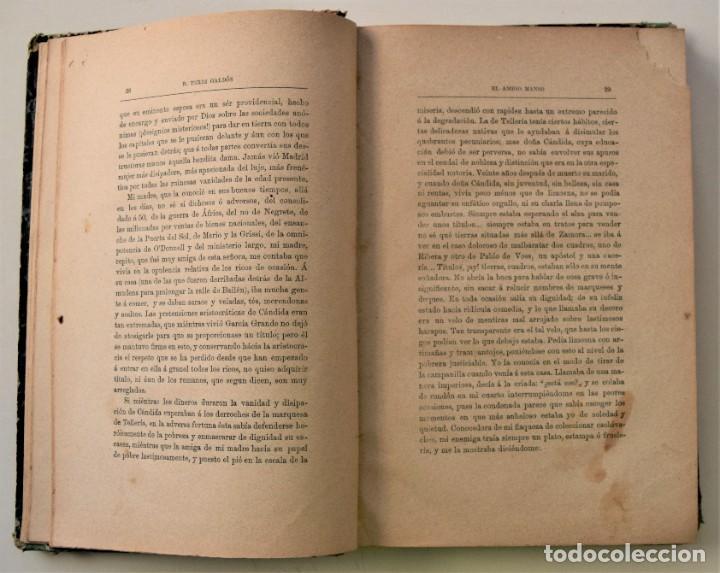 Libros antiguos: EL AMIGO MANSO - BENITO PÉREZ GALDÓS - PRIMERA EDICIÓN - MADRID 1882 - Foto 8 - 226100145
