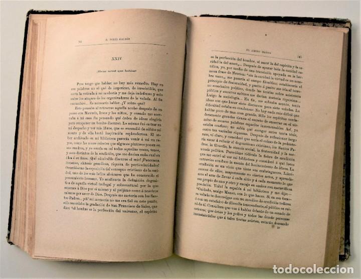 Libros antiguos: EL AMIGO MANSO - BENITO PÉREZ GALDÓS - PRIMERA EDICIÓN - MADRID 1882 - Foto 9 - 226100145