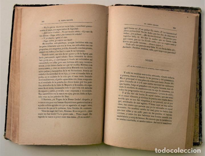Libros antiguos: EL AMIGO MANSO - BENITO PÉREZ GALDÓS - PRIMERA EDICIÓN - MADRID 1882 - Foto 10 - 226100145