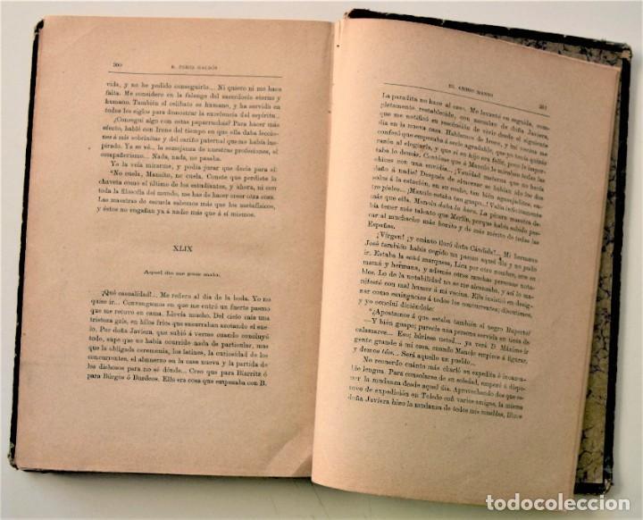 Libros antiguos: EL AMIGO MANSO - BENITO PÉREZ GALDÓS - PRIMERA EDICIÓN - MADRID 1882 - Foto 11 - 226100145