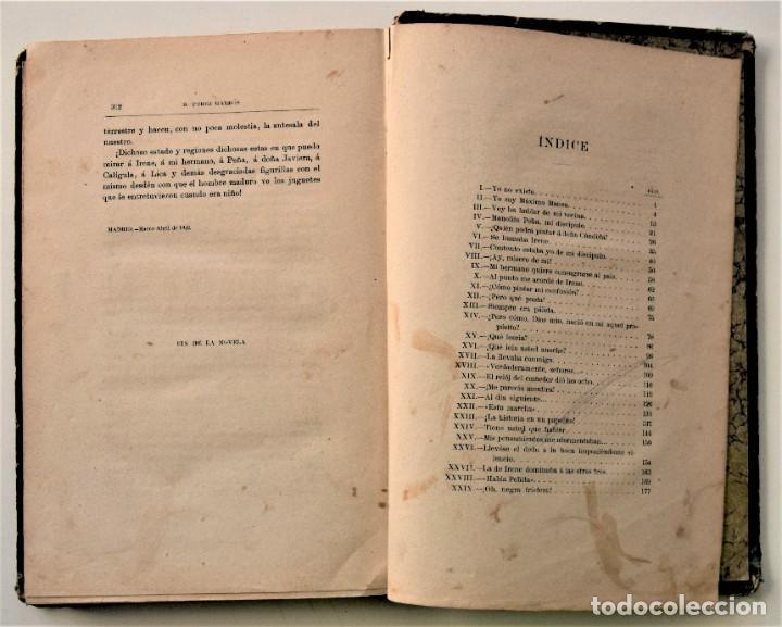 Libros antiguos: EL AMIGO MANSO - BENITO PÉREZ GALDÓS - PRIMERA EDICIÓN - MADRID 1882 - Foto 12 - 226100145