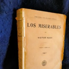 Libri antichi: LOS MISERABLES. VOLUMEN 1. LB9. Lote 226445915