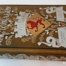 Libros antiguos: 1883 - PEREZ GALDÓS - EPISODIOS NACIONALES VII: LA SEGUNDA CASACA, EL GRANDE ORIENTE - ILUSTRADOS. Lote 226780980