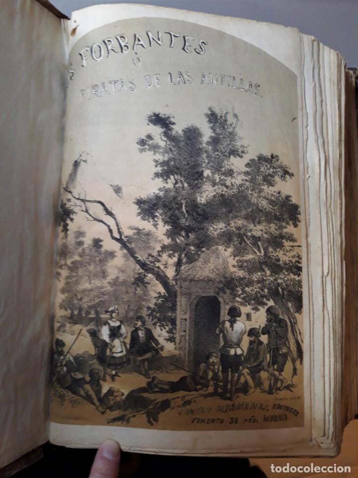 1855. LOS FORBANTES O PIRATAS DE LAS ANTILLAS. PAUL DUPLESSIS. NOVELA HISTÓRICA, LITOGRAFÍAS A COLOR (Libros antiguos (hasta 1936), raros y curiosos - Literatura - Narrativa - Novela Histórica)