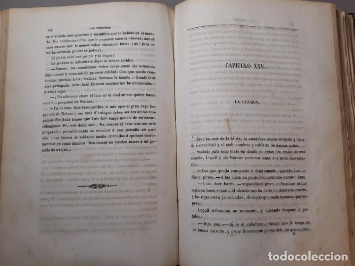 Libros antiguos: 1855. Los Forbantes o Piratas de las Antillas. Paul Duplessis. Novela Histórica, Litografías a color - Foto 8 - 227863680