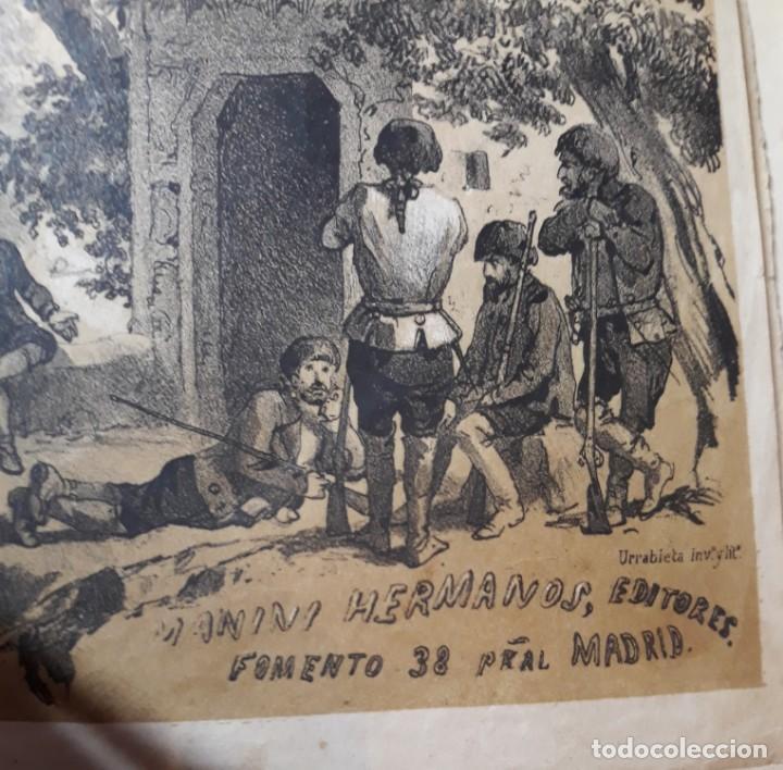 Libros antiguos: 1855. Los Forbantes o Piratas de las Antillas. Paul Duplessis. Novela Histórica, Litografías a color - Foto 11 - 227863680