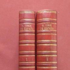 Libros antiguos: EL CONDE DE ESPAÑA. LA INQUISICION MILITAR - ALVARO CARRILLO - FINALES DEL XIX. Lote 231436585