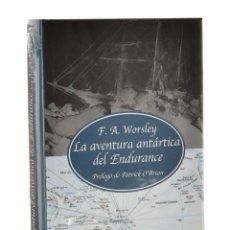 Livres anciens: LA AVENTURA ANTÁRTICA DEL ENDURANCE - WORSLEY, F. A.. Lote 232842265