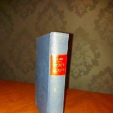 Libros antiguos: ROJA Y GUALDA PRIMERA EDICIÓN 1934 RICARDO LEÓN NOVELA. Lote 233413675