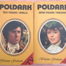 Libros antiguos: POLDARK, 2 VOLS. – WINSTON GRAHAM (HMB, 1979) /// JEREMY ROSS DEMELZA LUNA WARLEGGAN CUATRO AMÉRICA. Lote 235511825