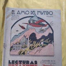 Libros antiguos: REVISTA JEROMIN - LECTURAS PARA TODOS - EL AMO DEL MUNDO (ROBERTO HUGO BENSON) Nº 34 AÑO 1932. Lote 235581185