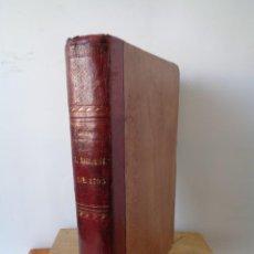 Libros antiguos: ¡¡ EL DRAMA, DE 1795, ESCENAS REVOLUCIONARIAS. AUTOR. ALEJANDRO DUMAS. 1856. !!. Lote 241194130