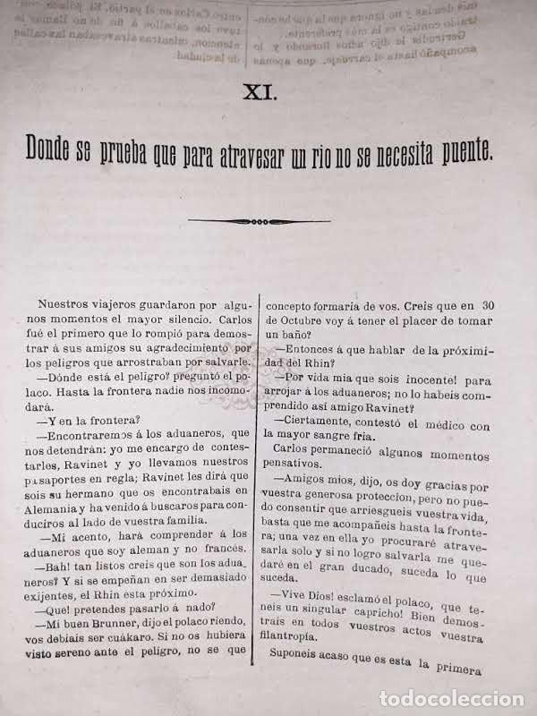Libros antiguos: Las aventuras de Carlos Brunner por Claudius Hastings. Traducción de Clemente Cano. Zaragoza. 188? - Foto 6 - 243689670