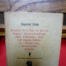 Libros antiguos: LLEGENDARI CATALA SEGONS MANUSCRITS & CRONIQUES DELS SEGLES XIV,XV&XVI. Lote 245524665