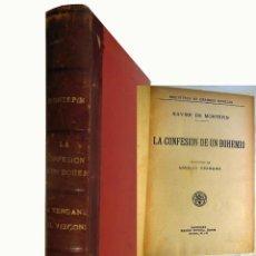 Libros antiguos: LA CONFESION DE UN BOHEMIO Y LA VENGANZA DEL VIZCONDE. XAVIER DE MONTEPIN. Lote 246043010