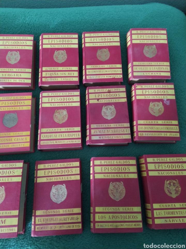 EPISODIOS NACIONALES PÉREZ GALDÓS 17 LIBROS 34 NOVELAS (Libros antiguos (hasta 1936), raros y curiosos - Literatura - Narrativa - Novela Histórica)