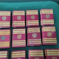 Libros antiguos: EPISODIOS NACIONALES PÉREZ GALDÓS 17 LIBROS 34 NOVELAS. Lote 249351185