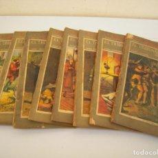 Libros antiguos: EL TRIBUNAL DE LA SANGRE 9 TOMOS LA NOVELA ILUSTRADA. Lote 253682095