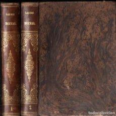 Libros antiguos: ALEJANDRO DUMAS : LAS DOS DIANAS (MURCIA Y MARTÍ, 1858). Lote 253889900