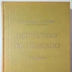Libros antiguos: MONTENEGRO, D.L. - BALAGUER, VÍCTOR - FERNANDO EL DESEADO. MEMORIAS DE UN LIBERAL - BARCELONA 1860 -. Lote 261223105
