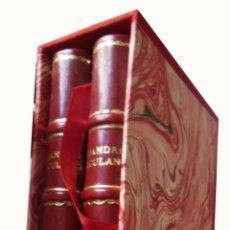 Libros antiguos: EL MONJE DEL CISTER (2 TOMOS EN CAJETIN) 1877 ALEJANDRO HERCULANO. Lote 261239735