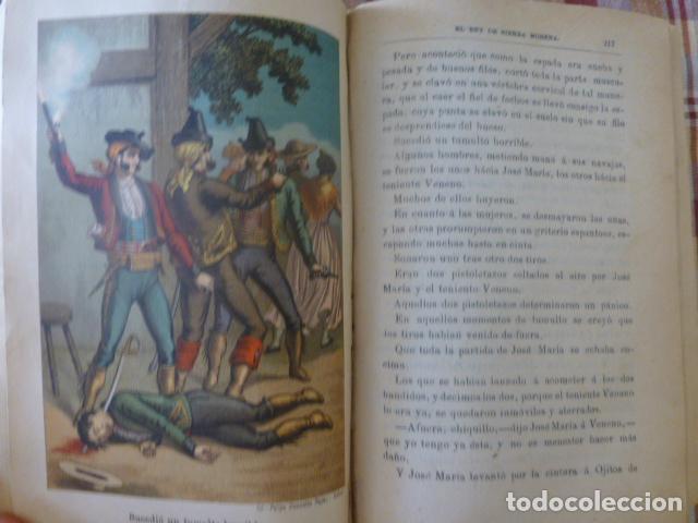Libros antiguos: EL REY DE SIERRA MORENA AVENTURAS DEL FAMOSO LADRON JOSE MARIA MADRID 1895 TOMO I - Foto 2 - 275963258