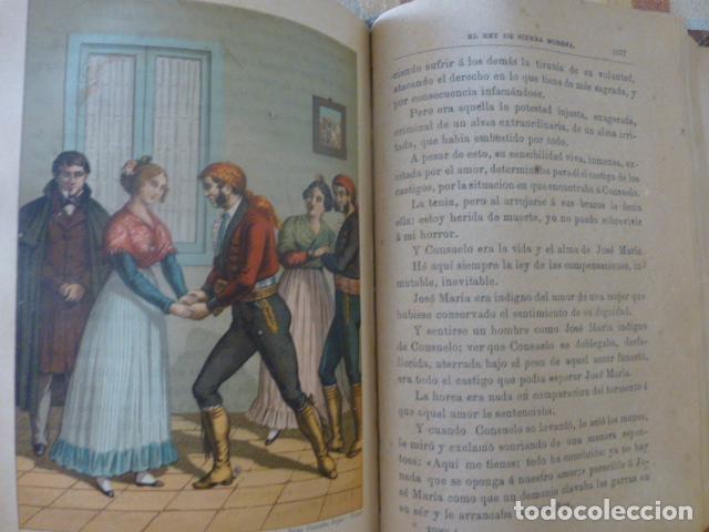 Libros antiguos: EL REY DE SIERRA MORENA AVENTURAS DEL FAMOSO LADRON JOSE MARIA MADRID 1895 TOMO I - Foto 3 - 275963258