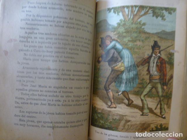 Libros antiguos: EL REY DE SIERRA MORENA AVENTURAS DEL FAMOSO LADRON JOSE MARIA MADRID 1895 TOMO I - Foto 5 - 275963258