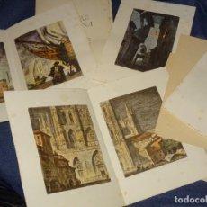 Libri antichi: (M) MIGUEL DE CERVANTES - LA ILUSTRE FREGONA SERIE DE LAS ILUSTRACIONES DE MICIANO, FIRMADAS A LÁPIZ. Lote 264316820