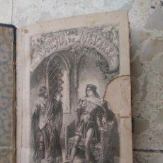 Livres anciens: DOÑA SANCHA DE NAVARRA - MANUEL FERNÁNDEZ Y GONZÁLEZ - NOVELA HISTÓRICA - MIGUEL PRATS, 1865. Lote 265465859
