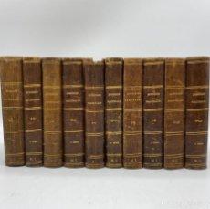 Livres anciens: EPISODIOS NACIONALES. 10 TOMOS. BENITO PEREZ GALDOS. IMPRENTA J. NOGUERA. MADRID, 1873-79.1ª EDICION. Lote 269279528