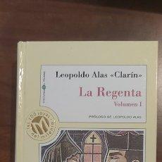 Libros antiguos: Nº 63 - COL. MILLENIUM - LEOPOLDO ALAS ''CLARIN'' - LA REGENTA (VOL. I Y II) - 1999. Lote 271019873