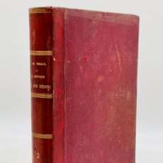 Libros antiguos: ANTIGUO LIBRO FRANCÉS CON GRABADOS. Lote 276426568